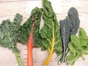 Varieties of Leafy Greens