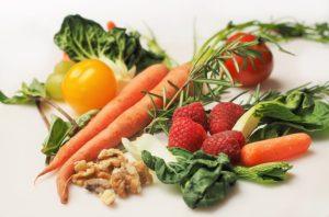Brain foods, Fruits, vegetables & nuts