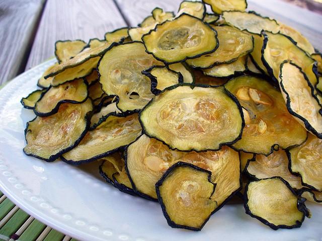 Dried Zuchinni Chips