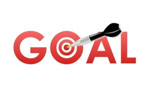 dart on goal target