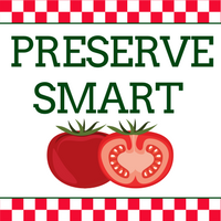 Preserve Smart Icon showing sliced tomato and red checkered borders