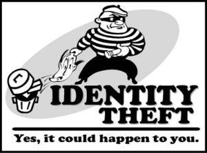 Thief Stealing Identity