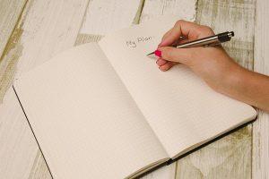 Journaling a plan