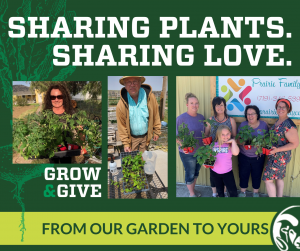 Sharing your Plants through grow and give