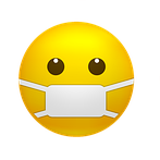 Emoji with a face mask