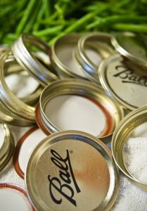 Canning lids and rings