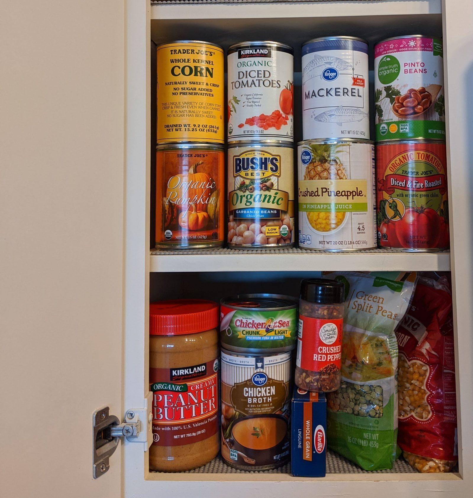 pantry food storage