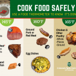 safe food temperature chart
