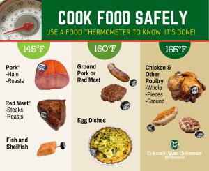 safe food temperature chart