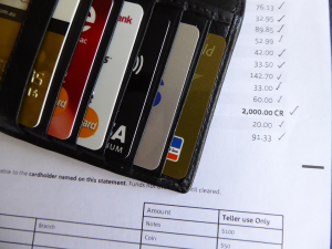 credit cards and credit card bill