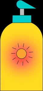 photo of a generic bottle of sunblock